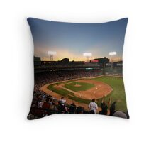 Dusk at Fenway Park Throw Pillow