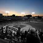 Dusk at Fenway Park #2 by artbylisa