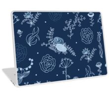 Elegance Seamless pattern with flowers Laptop Skin