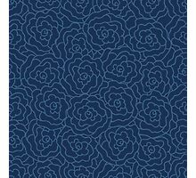Elegance Seamless pattern with flowers Photographic Print