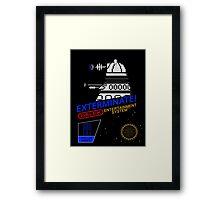 NINTENDO: NES EXTERMINATE! Framed Print