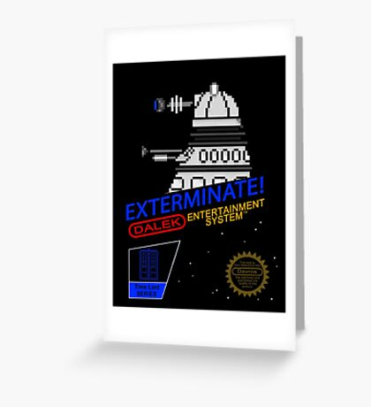 NINTENDO: NES EXTERMINATE! Greeting Card
