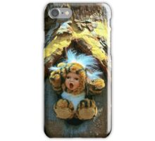 Hole in the Trunk TIger Doll  iPhone Case/Skin