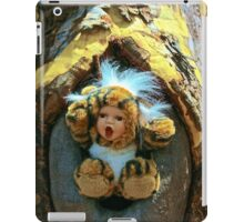 Hole in the Trunk TIger Doll  iPad Case/Skin