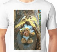 Hole in the Trunk TIger Doll  Unisex T-Shirt