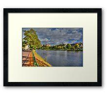 River Ness, Inverness, Scotland Framed Print