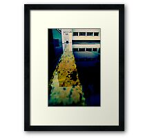 Reflective Line Studies Framed Print