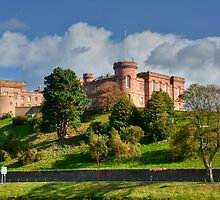 Inverness Castle, Scotland.  by AlbaPhotography