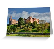 Inverness Castle, Scotland.  Greeting Card