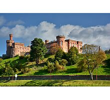 Inverness Castle, Scotland.  Photographic Print
