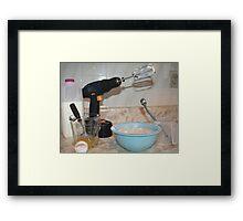 Handyman/ Baker Framed Print