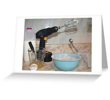 Handyman/ Baker Greeting Card