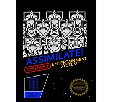 NINTENDO: NES ASSIMILATE! Photographic Print