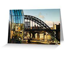 Gateshead Sage and Tyne Bridge Greeting Card