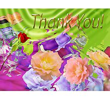 Thank You for over 10K visitors Photographic Print