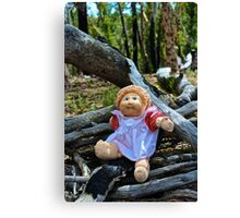 Burnt Timber Cabbage Patch Kid Canvas Print