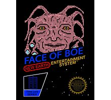 NINTENDO: NES Face Of Boe Photographic Print