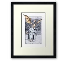 An Appointment Kept Framed Print