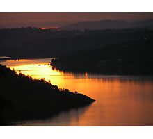 Brentwood Bay from the Malahat Photographic Print