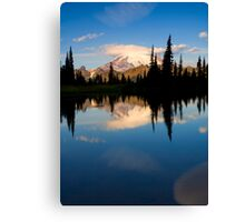 Mountain Mirror Canvas Print