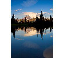 Mountain Mirror Photographic Print