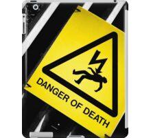 Danger of Death #2 | New Slant, Old Message iPad Case/Skin