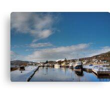 Caledonian Canal, Scotland Canvas Print