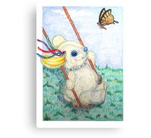 Pooky Swing Canvas Print