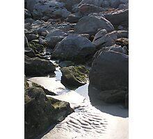 Beach rock Photographic Print