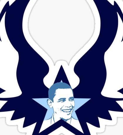 obama : punk star Sticker