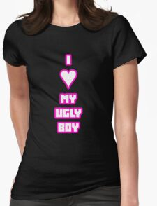 Die Antwoord - I Heart My Ugly Boy Womens Fitted T-Shirt