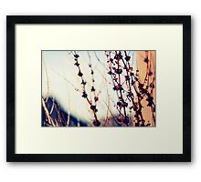 We should all be thankful  for those people who rekindle the inner spirit (Albert Schweitzer) Framed Print