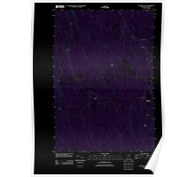 Maine USGS Historical Map Ten Mile Lake 20110829 TM Inversion Poster