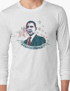 barack obama : starz and scrollz Long Sleeve T-Shirt