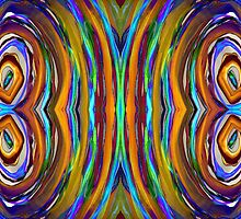 Psychedelic 4 Circle Supreme by BethofArt