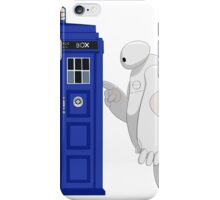 Baymax meet TARDIS iPhone Case/Skin