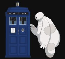 Baymax meet TARDIS by GemoDawn