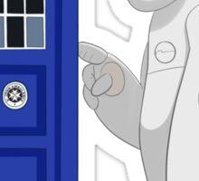 Baymax meet TARDIS Sticker