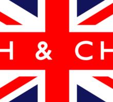 Fish & Chips UK Flag Sticker
