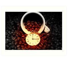 It's Coffee Time! Art Print