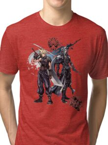 FFantasy black Tri-blend T-Shirt