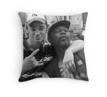 Buzzed Throw Pillow