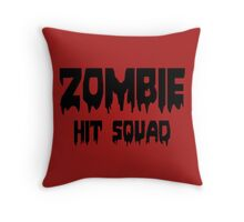 ZOMBIE HIT SQUAD by Zombie Ghetto Throw Pillow