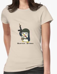 Gunter Strike  Womens Fitted T-Shirt