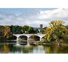 Memorial Street Bridge Photographic Print
