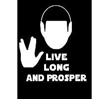Live Long and Prosper (Leonard Nimoy) Photographic Print