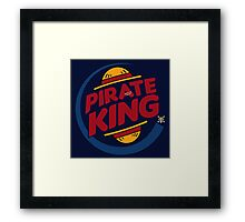 Pirate King (eventually) Framed Print