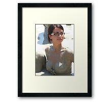 Secretary Mudbath Framed Print