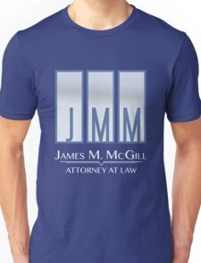 James M. McGill (JMM) Unisex T-Shirt
