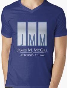 James M. McGill (JMM) Mens V-Neck T-Shirt
